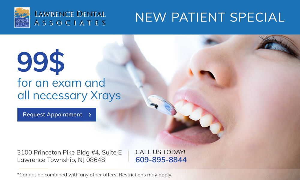 dental specials $99 exam and xray