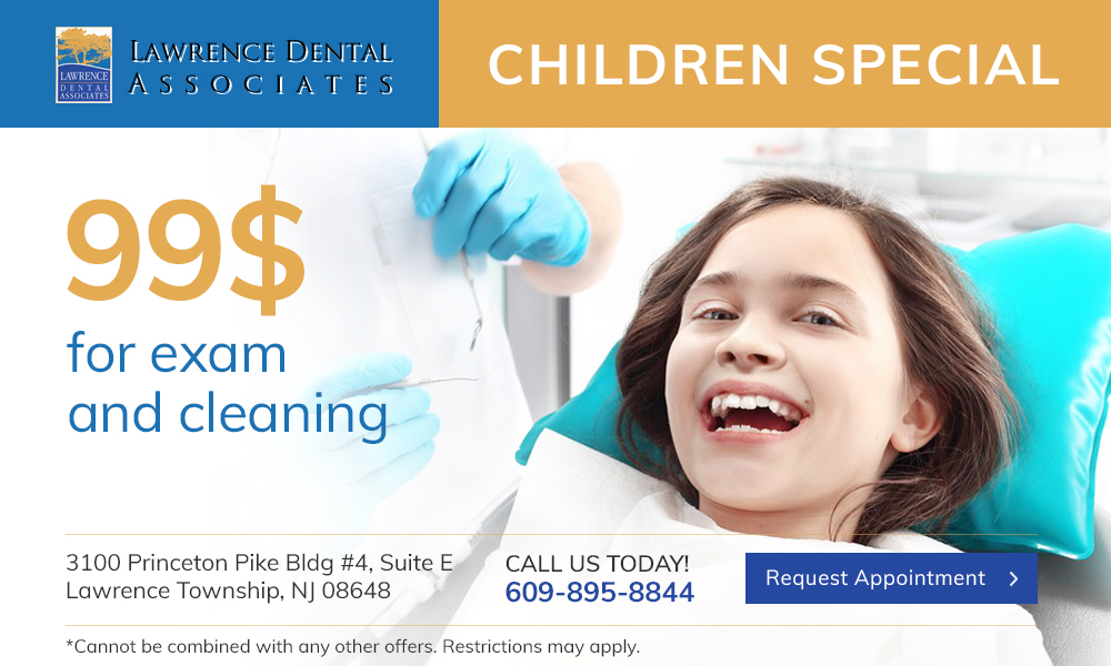 dental specials $99 exam and cleaning